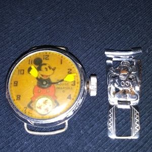 1933 Mikey Mouse Ingersoll Watch